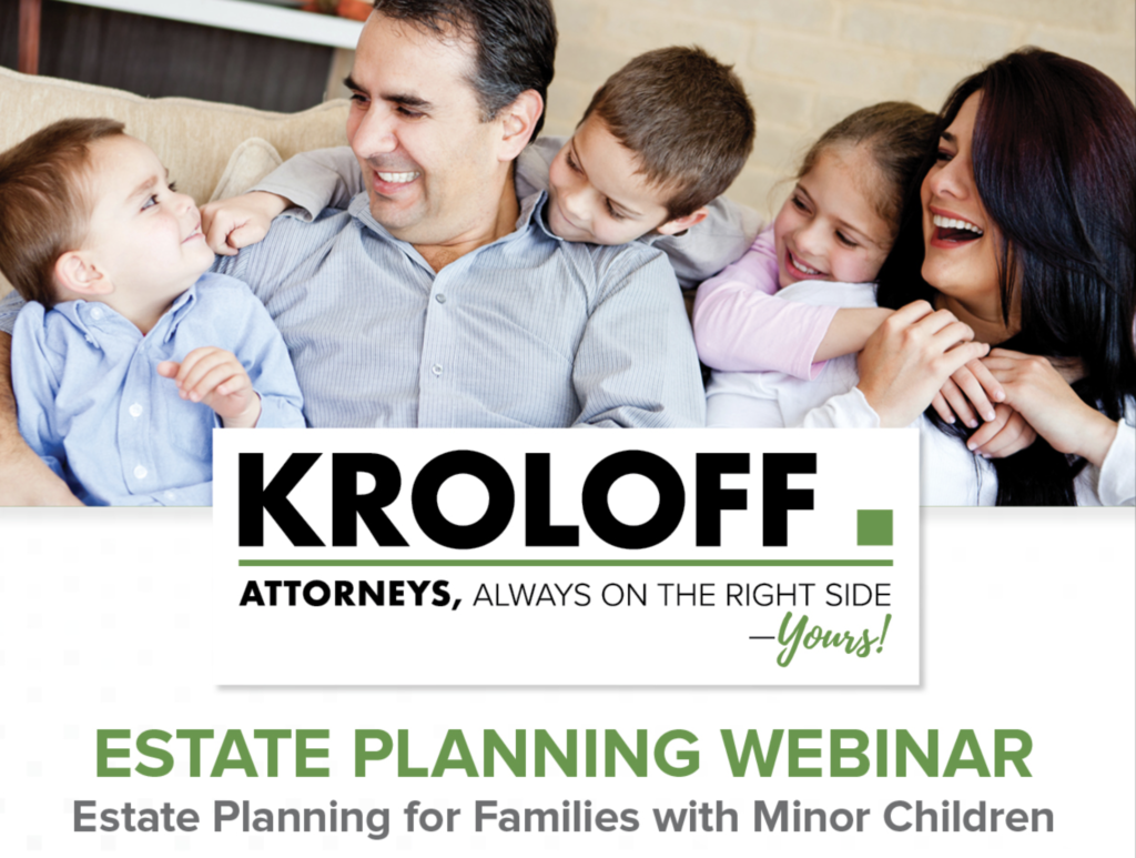 Free Webinar | Estate Planning for Parents with Minor Children